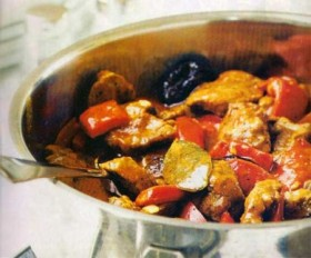 Lamb & Red Pepper Stew