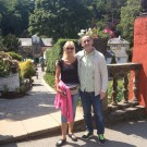 Me and John in Portmerion