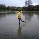 Imy enjoying the floods