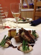 Welsh rack of lamb